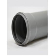 Труба ПП DN110 х 2,7мм длина 0,5м, Cаратовпластика внутренняя канализация
