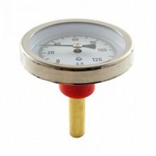 Термометр биметаллический 120°C L=100
