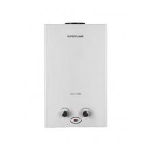 Газовый водонагреватель Superflame SF0120 10л. белый с дисплеем (Мощн. 20 кВт,  расход воды 10 л/мин)