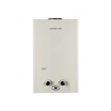 Газовый водонагреватель Superflame SF0216 8л. белый /Сжижен.газ  (Мощн. 14 кВт, расход 8 л/мин)