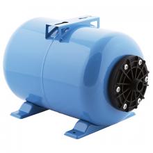 Гидроаккумулятор  Джилекс ГП 24 горизонтальный (пластиковый фланец, синий)