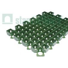 Решетка газонная пластиковая зеленая (1кв.м. = 4,4 модуля)