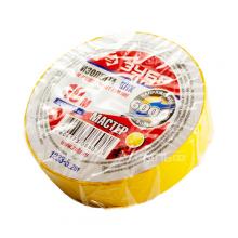 Изолента ПВХ Зубр 15мм ,55г жёлтая 1233-5