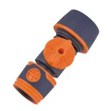 Быстросъемная муфта-коннектор с шаровым краном 1/2, шланг-евро соед.