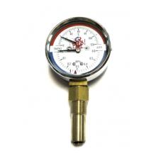 Термоманометр ТМТБ-31Р Dy80 с нижним подключением 1/2