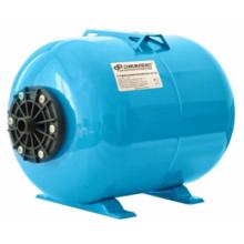 Гидроаккумулятор  Джилекс ГП 14 горизонтальный (пластиковый фланец, синий)