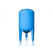 Гидроаккумулятор  Джилекс ВП 100 вертикальный (пластиковый фланец, синий)